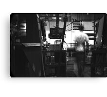 Ghost in the Machine #2 Canvas Print