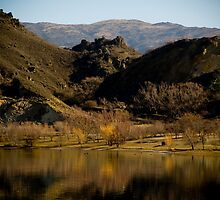 Lake in Central Otago by AquaMarina