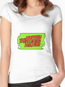 Mystery Machine  Women's Fitted Scoop T-Shirt
