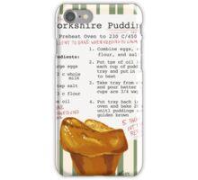Sherlock's Yorkshire Pudding  iPhone Case/Skin
