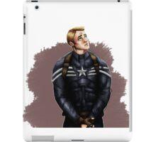 Stealth Suit Steve Rogers iPad Case/Skin