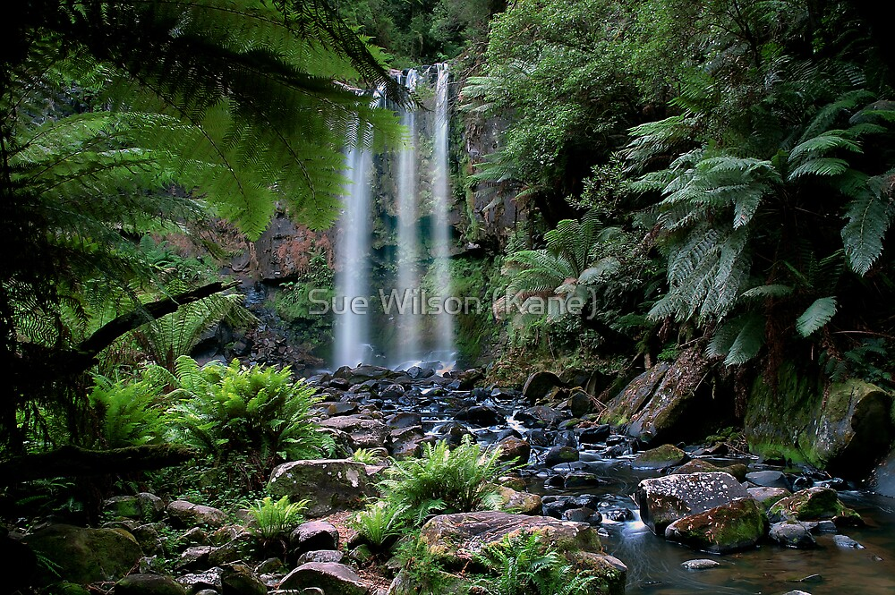 Hopetoun falls, Australia by Sue Wilson (Kane)