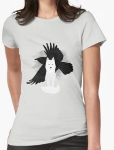 Ghost the Crow Womens Fitted T-Shirt