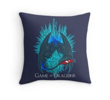 Game of Dragons - HTTYD2/GoT (With Text) Throw Pillow