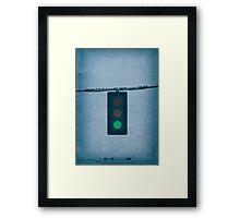 Breaking Bad - Green Light Framed Print
