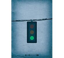 Breaking Bad - Green Light Photographic Print
