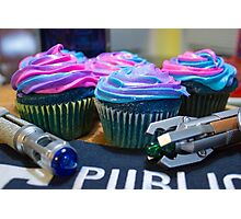 Timey Wimey Cupcakes Photographic Print