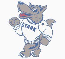 Stark Direwolves Mascot by JamesShannon