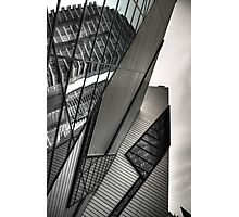 ROM Shapes Photographic Print