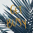 Get Busy (Cyanotype) by ALICIABOCK