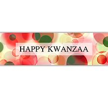 happy kwanzaa (bokeh) by maydaze