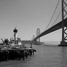 Bay Bridge, San Francisco by WarOfTheRoses