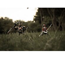 Little Toy Samurai Photographic Print