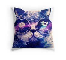 Adventure Time Cat Throw Pillow
