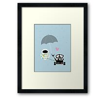 true love.. walle and eve Framed Print