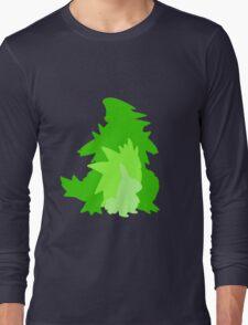Tyranitar Evolutionary Line Long Sleeve T-Shirt