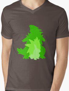 Tyranitar Evolutionary Line Mens V-Neck T-Shirt