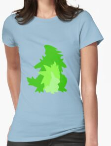 Tyranitar Evolutionary Line Womens Fitted T-Shirt