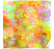 Spring Floral Abstract 41/ wall art + Clothing & Stickers+Pillows & Totes,  I-phon cases+Laptop Skins+Mugs+Cards  Poster