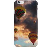 Hot Air Balloons - Chasing The Horizon iPhone Case/Skin
