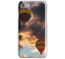 Hot Air Balloons - Chasing The Horizon iPhone Case/Skin