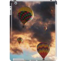 Hot Air Balloons - Chasing The Horizon iPad Case/Skin