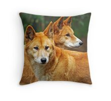 Dingoes Throw Pillow