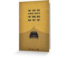 Breaking Bad - Shotgun Greeting Card