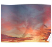 Sky Painting Poster