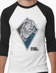 Above & Below: Otter Men's Baseball ¾ T-Shirt