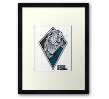 Above & Below: Otter Framed Print
