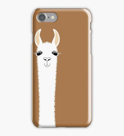 LLAMA PORTRAIT #9 iPhone Case/Skin