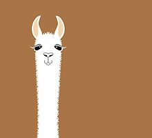 LLAMA PORTRAIT #9 by Jean Gregory  Evans