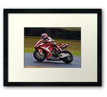 Yamaha r6 supersport Framed Print