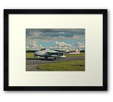 De Havilland Vampire FB.6 LN-DHY Framed Print