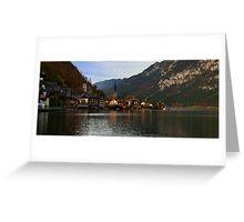 Hallstatt Austria Greeting Card