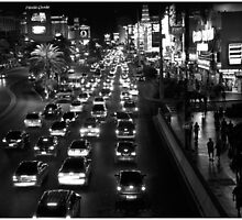 Las Vegas Strip by LOREDANA CRUPI