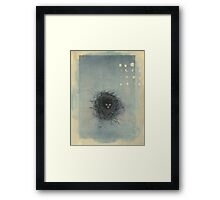 Sparrow's Nest Framed Print