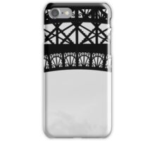 Eiffel Tower detail 2 iPhone Case/Skin