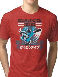 Double-Kick Dojo Tri-blend T-Shirt