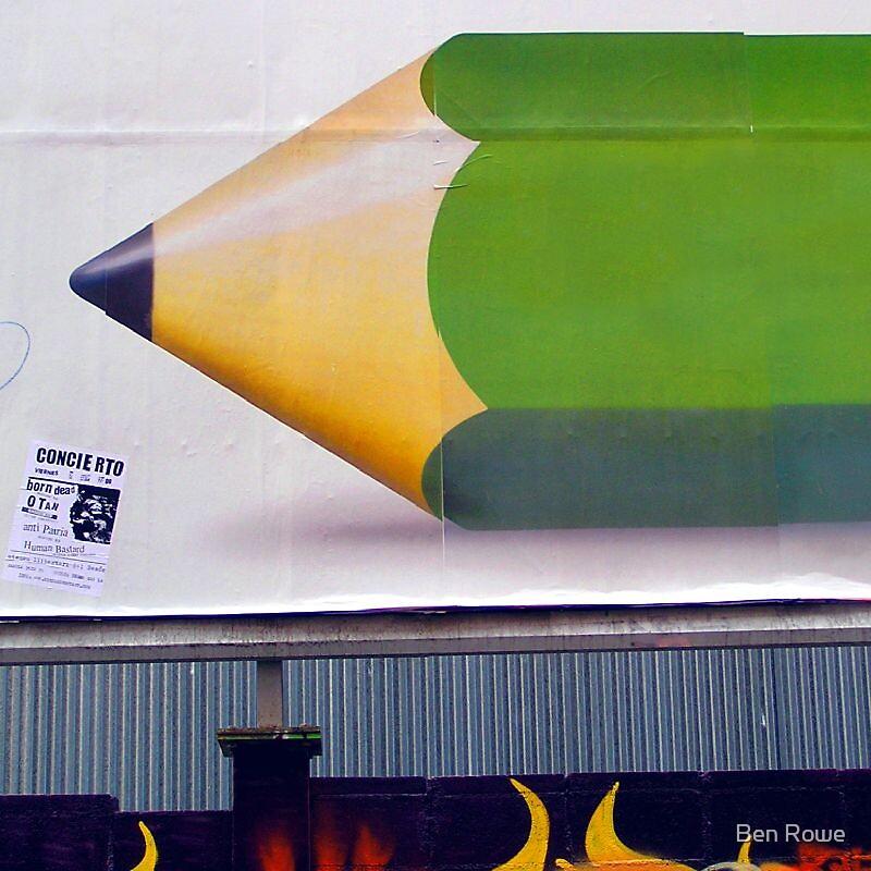 Really Big Pencil by Ben Rowe