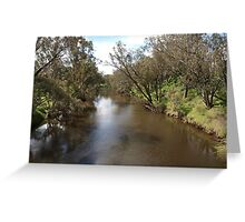 A River in Pinjarra Greeting Card