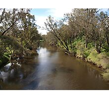A River in Pinjarra Photographic Print