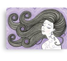 Violet Hour Canvas Print