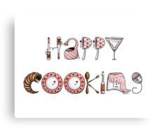 Happy Cooking! Canvas Print