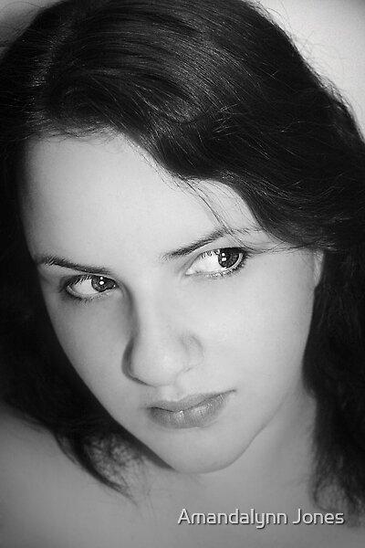 Self Portrait I by Amandalynn Jones