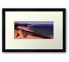 Strickland Bay, Rottnest Island Framed Print
