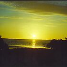 Sunset at Derbit Creek.Shark Bay. by Rosy