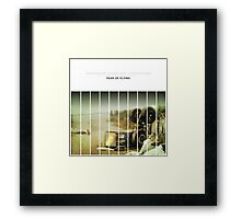 Fear Of Flying Framed Print