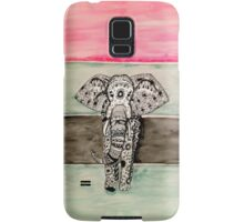 Elephant Tribal Zentangle Samsung Galaxy Case/Skin